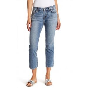 NWT CURRENT/ELLIOTT The Cropped Straight Jean 29